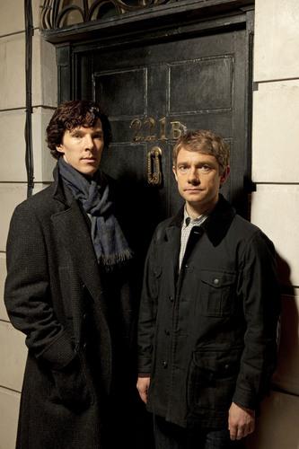 Sherlock wallpaper with a business suit titled 'Sherlock'