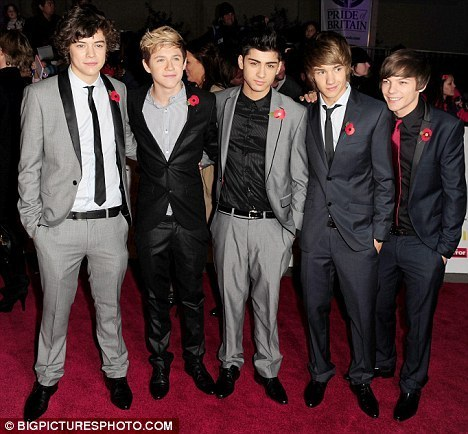 1 Direction At Pride Of Britain Awards (On The red Carpet) :) x