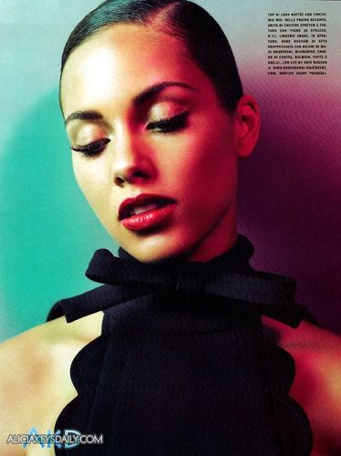 Alicia in VOGUE Italia November 2010 Issue