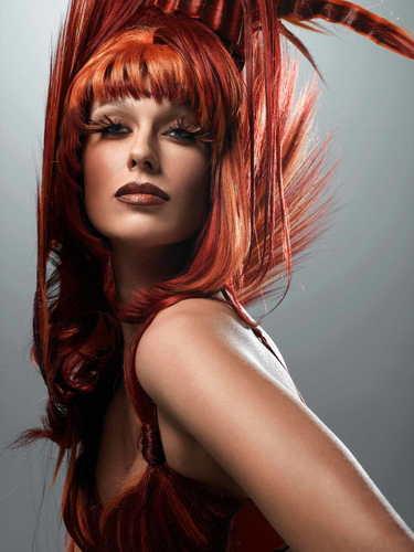 America's 次 上, ページのトップへ Model Cycle 7 Big Hair Photoshoot