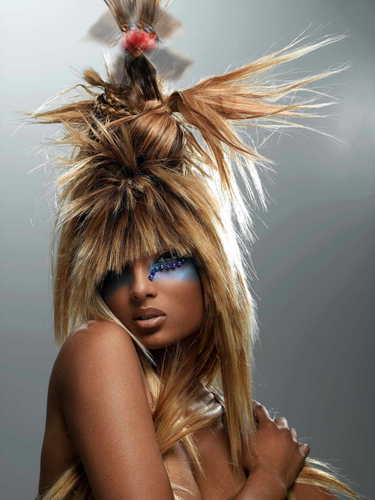 America's susunod tuktok Model Cycle 7 Big Hair Photoshoot