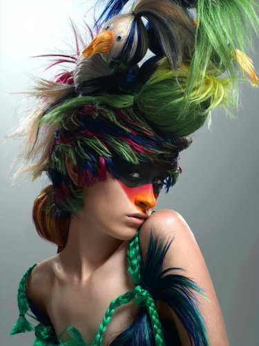 America's suivant haut, retour au début Model Cycle 7 Big Hair Photoshoot