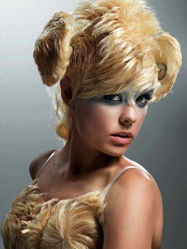 America's siguiente parte superior, arriba Model Cycle 7 Big Hair Photoshoot