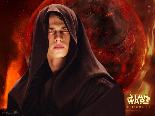 anakin skywalker wallpaper probably containing a fogo and a fogo entitled Anakin Skywalker