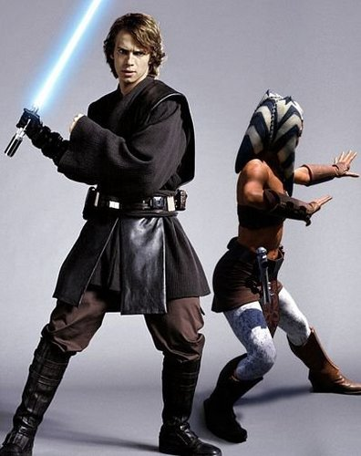 Anakin and Ahsoka!
