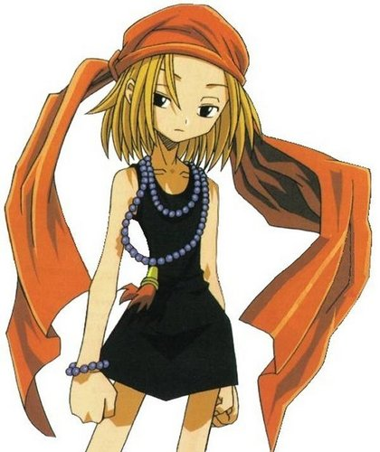 Shaman King wallpaper with animê titled Anna