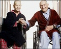 elderly gay couple - vintage-beefcake photo