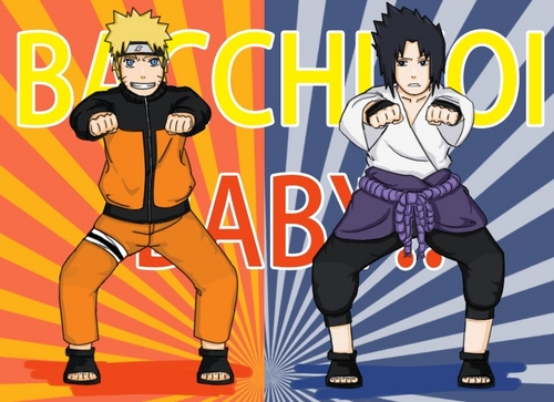 Naruto wallpaper containing anime entitled BACCHIKOI BABY