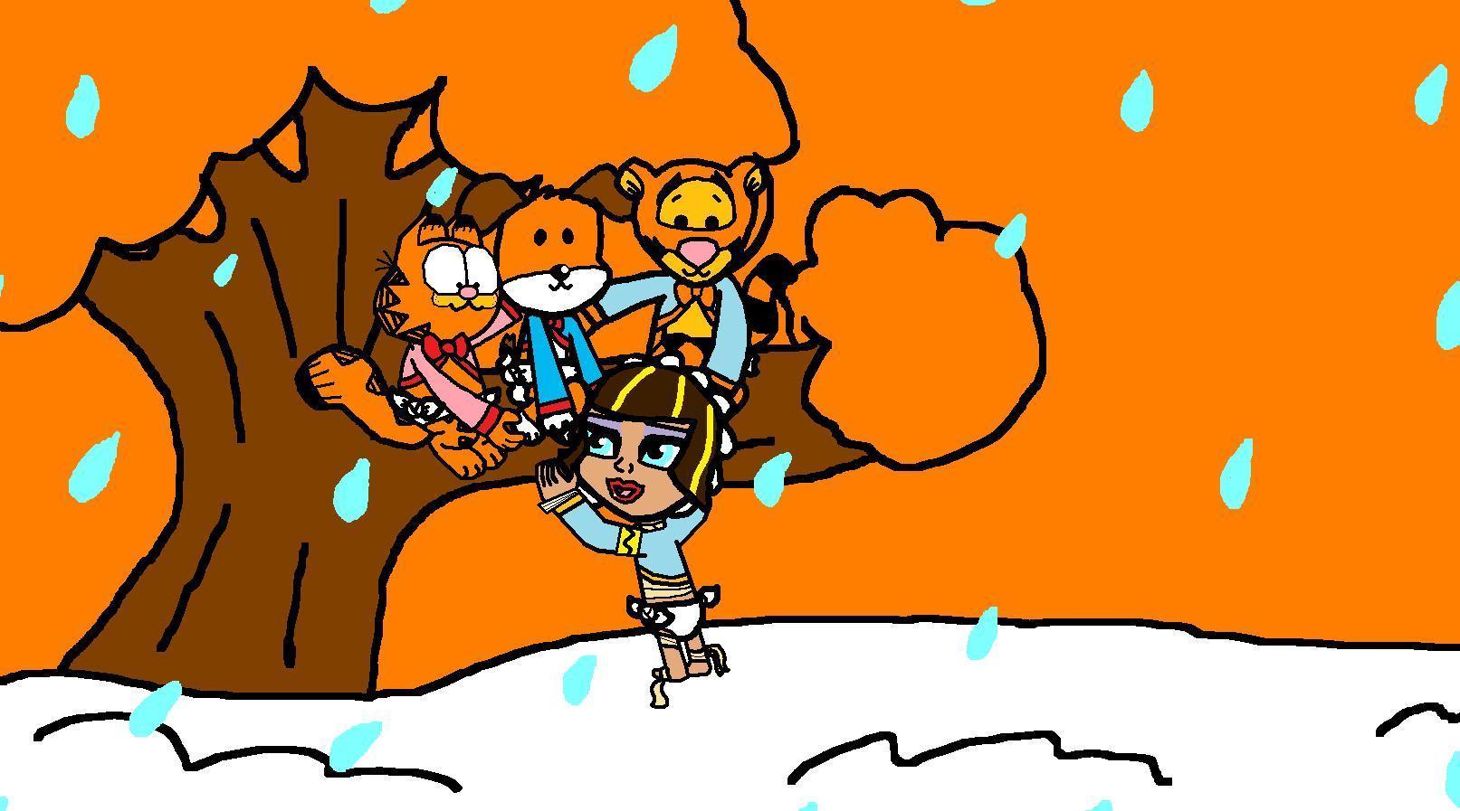 아기 Garfield, Kipper, Cleo and Tigger in Forever Young