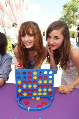 Bella& Her Friend Playing Connect 4<3