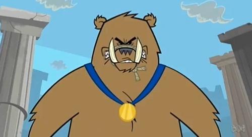 mannetjesvarken, wilde zwijnen beer