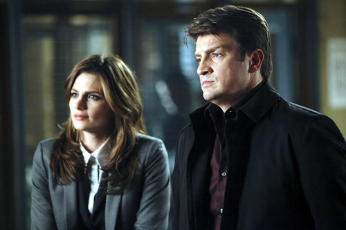 замок & Beckett Обои with a business suit and a well dressed person titled Castle_3x10_Last Call_Promo pics