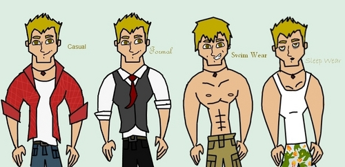 Cedric's Clothing Reference Sheet