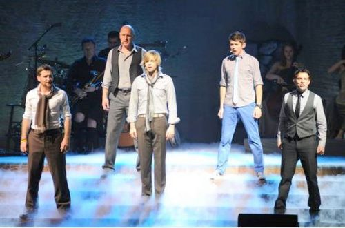 Celtic Thunder performing @ The Grove in Anaheim CA 6 Nov 2010