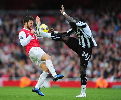 Cesc (Arsenal - Newcastle)