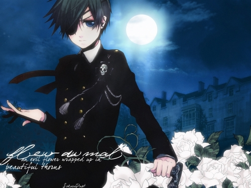 Ciel Phantomhive wallpaper possibly containing a street called Ciel Phantomhive