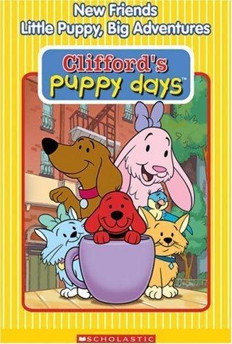 Clifford's कुत्ते का बच्चा, पिल्ला Days: New Friends, Little Puppy, Big Adventures DVD