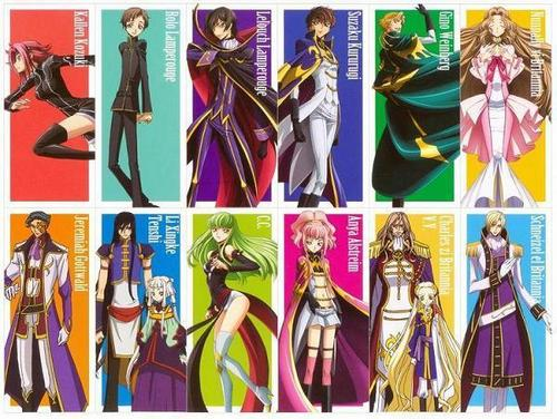 Code Geass kertas dinding entitled Code Geass