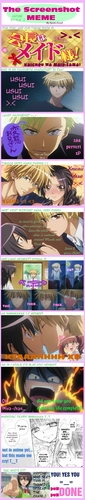 Kaichou wa Maid-sama foto probably with a sign entitled Comic