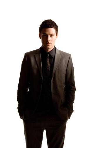 স্বতস্ফূর্ত দেওয়ালপত্র containing a business suit, a suit, and a double breasted suit entitled Cory Monteith