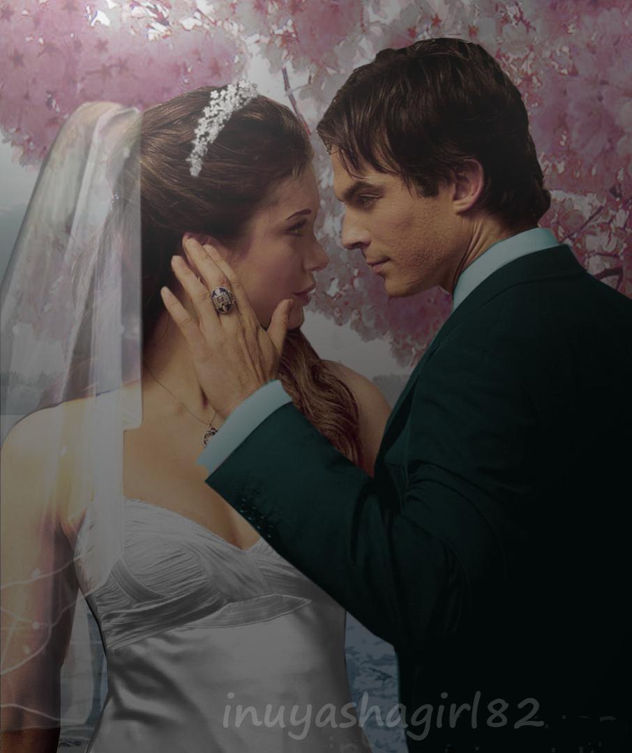 Damon elena images 1 damon elena beautiful wedding hd for Damon y elena