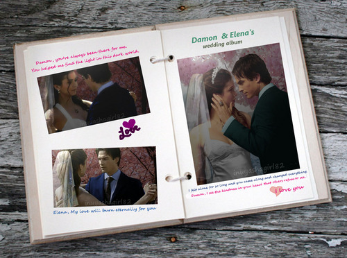Damon & Elena's wedding Album