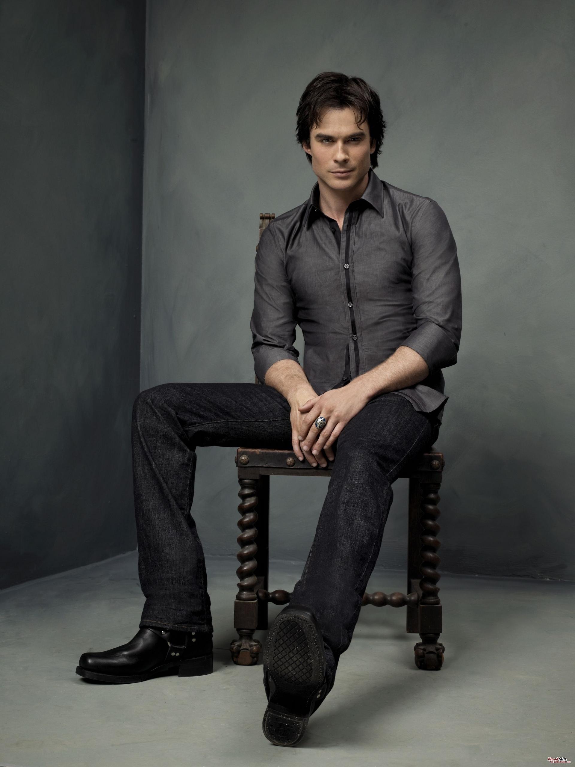 Damon Salvatore - Photoshoot (HQ)