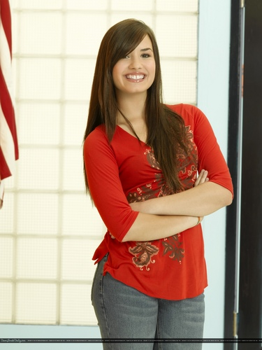 Demi Lovato - As The ベル Rings promoshoot (2007)