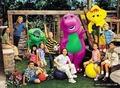 Demi Lovato - Barney & Friends promoshoot (2000)