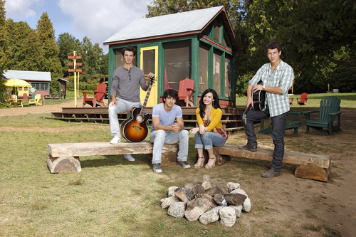 Demi Lovato - Camp Rock 2: The Final ジャム promoshoot (2010)