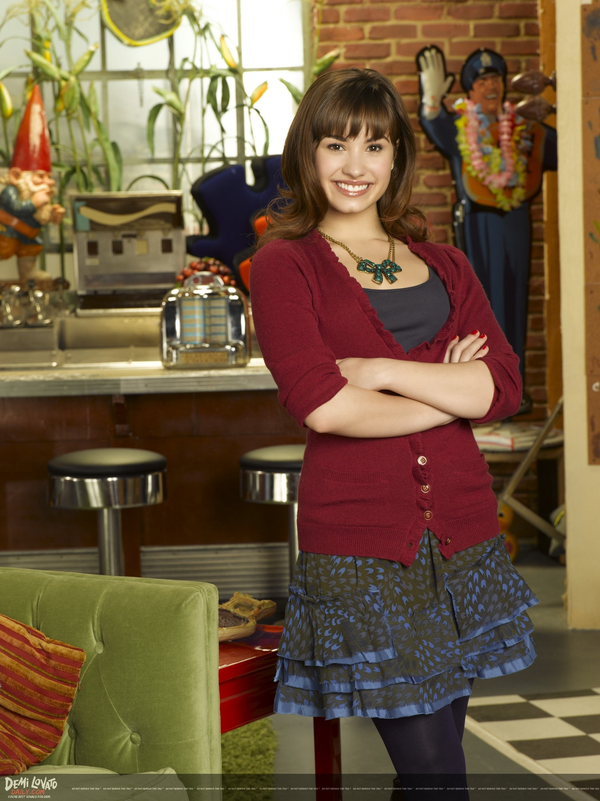 Anichu90 Demi Lovato - Sonny With A Chance Season 1 promoshoot (2009)
