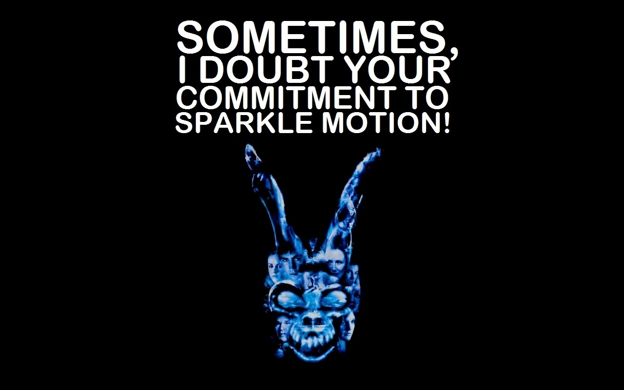"donnie darko images ""sparkle motion!"" hd wallpaper and background"