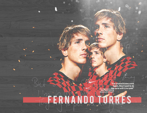 Fernando Torres 壁紙 probably containing a sign, a concert, and a portrait titled Fer Torres