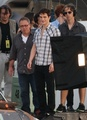 Filming a scene on the pier 07.11.10 - twilight-series photo
