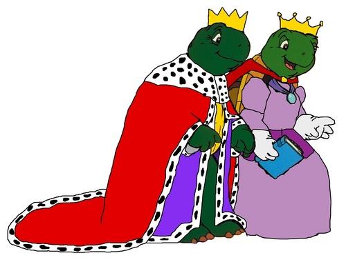 Franklin's Parents - Monarchs