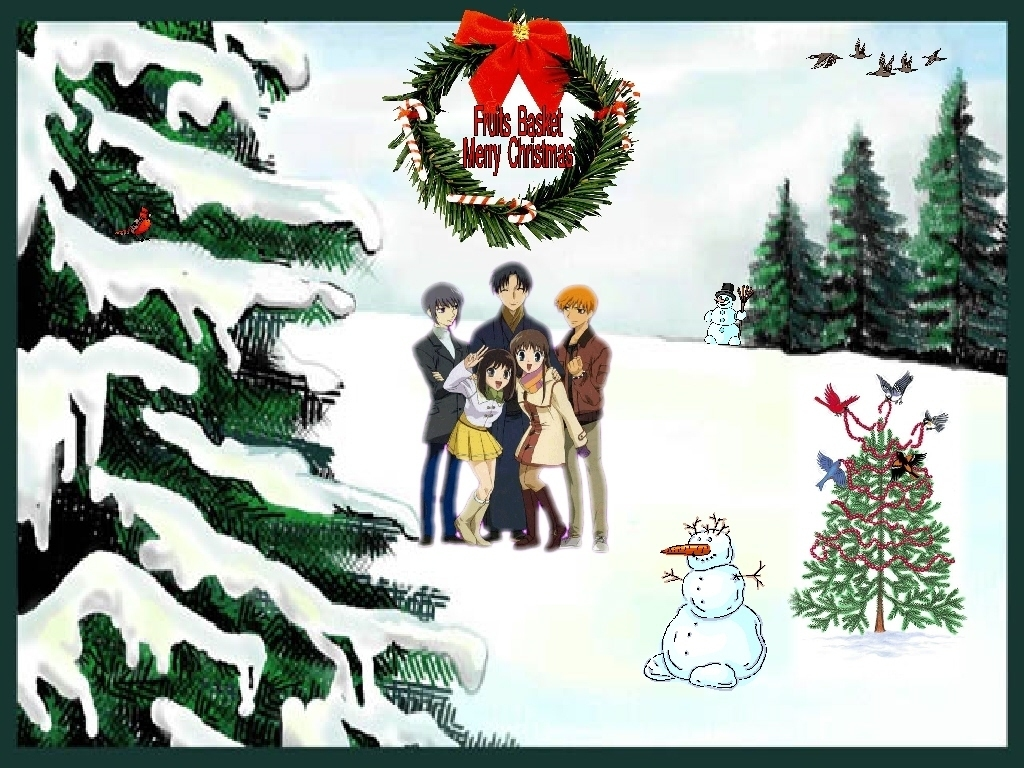 Fruits basket christmas funkyrach01 wallpaper 16837909 fanpop