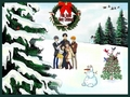 Fruits Basket Christmas - funkyrach01 wallpaper