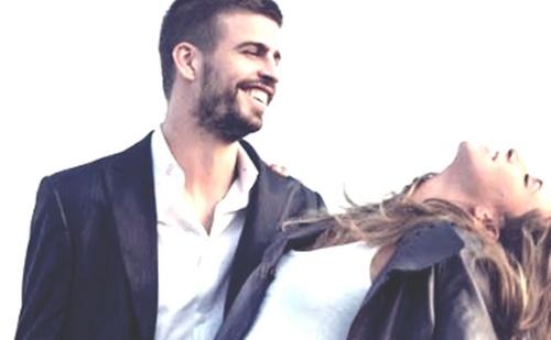 Gerard Piqué and Shakira hot love