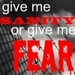 Give Me Sanity or Give Me Fear! - debate icon