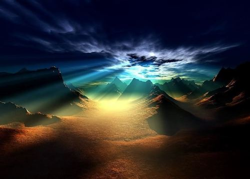 God's Mystical Landscapes - god-the-creator Photo
