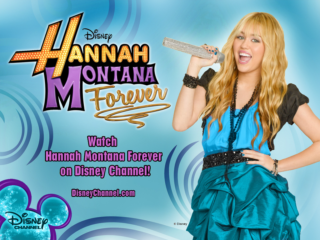 Hannah Montana Forever EXCLUSIVE 迪士尼 壁纸 created 由 dj !!!