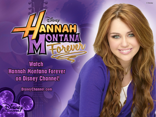 Hannah Montana Forever EXCLUSIVE ディズニー 壁紙 created によって dj !!!