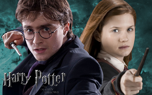 Harry Potter wallpaper called Harry & Ginny