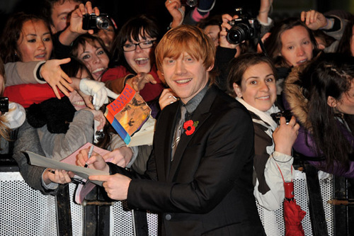 Harry Potter and the Deathly Hallows: Part I world premiere.