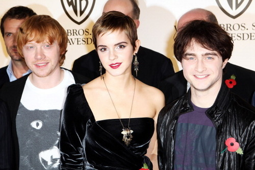Harry Potter and the Deathly Hallows Part One london Photocall