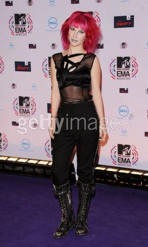 Hayley at the EMA