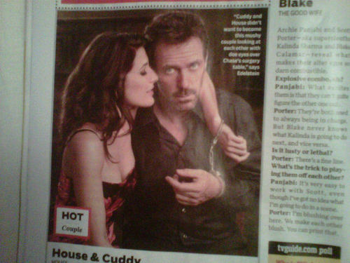 House and Cuddy Handcuffed