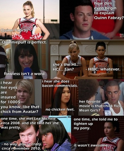 How do I even begin to explain Quinn Fabray? - quinn-fabray Fan Art