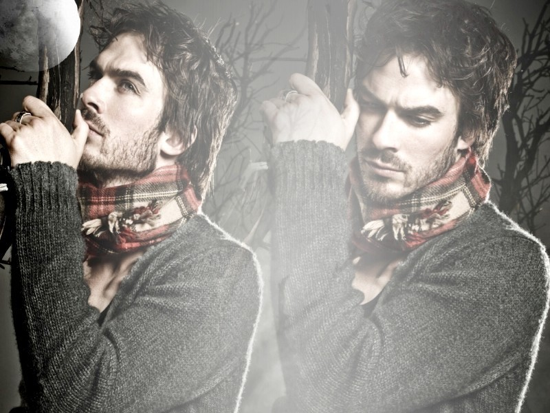 Ian Somerhalder Wallpaper - The Vampire Diaries 800x600