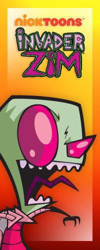Invader Zim on Nicktoons
